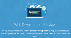 Web development services in Manchester